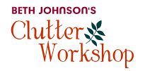 Click for HOME --- Hope   for Chronic Clutter and Hoarding - at the ClutterWorkshop.com!
